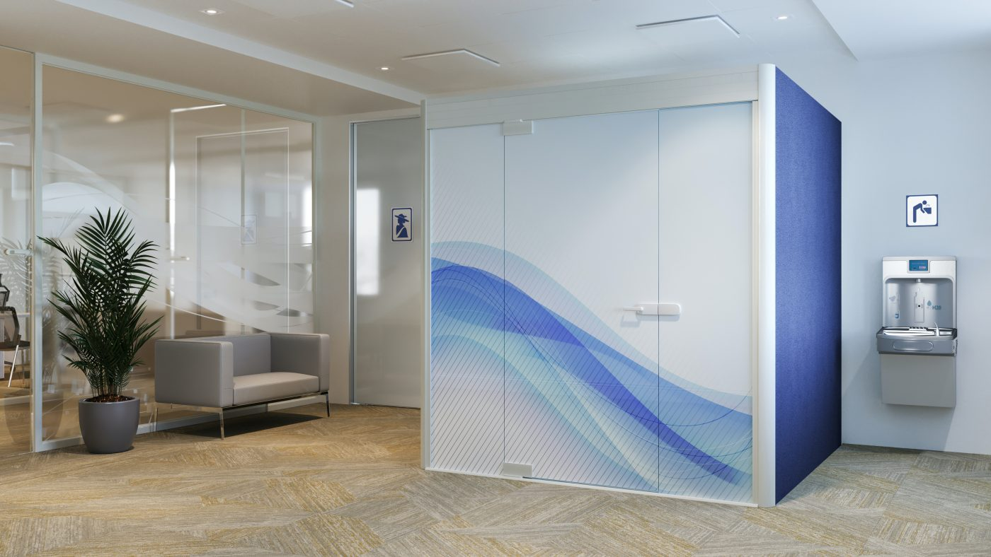 Transform a Privacy Pod into a Mothers Room for Office