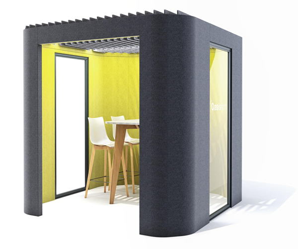 Oasis Berco Office Phone Booth Pods