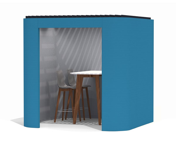 Oasis Berco open office work booth