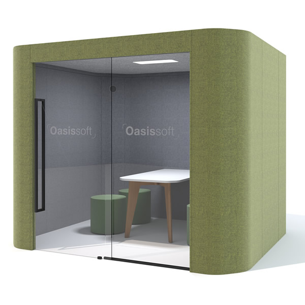Oasis Berco Soft Collection of Acoustic Office Furniture